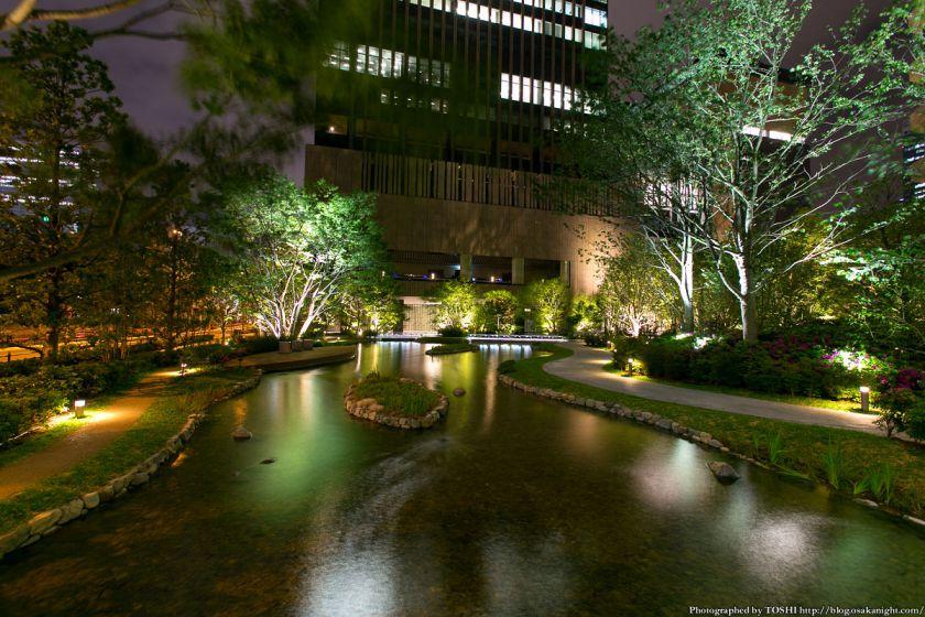 グランフロント大阪 ザ・ガーデン 夜景 03