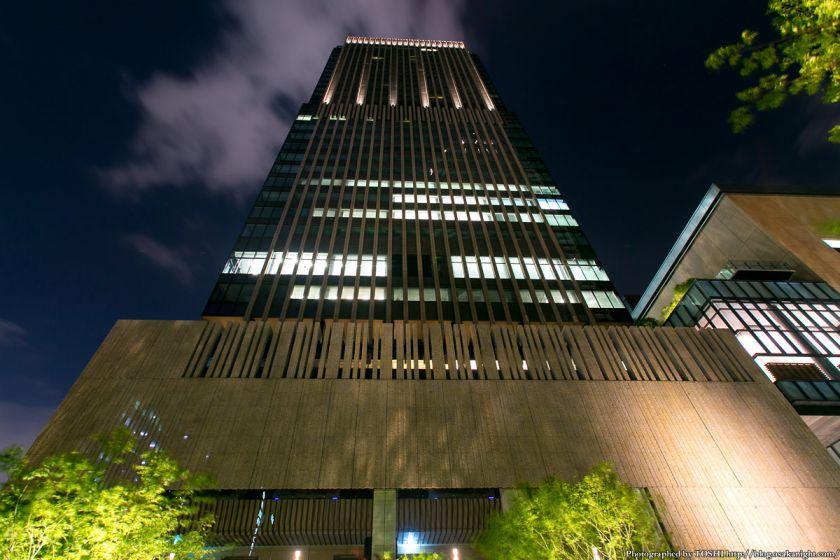 グランフロント大阪 北館 タワーC 夜景