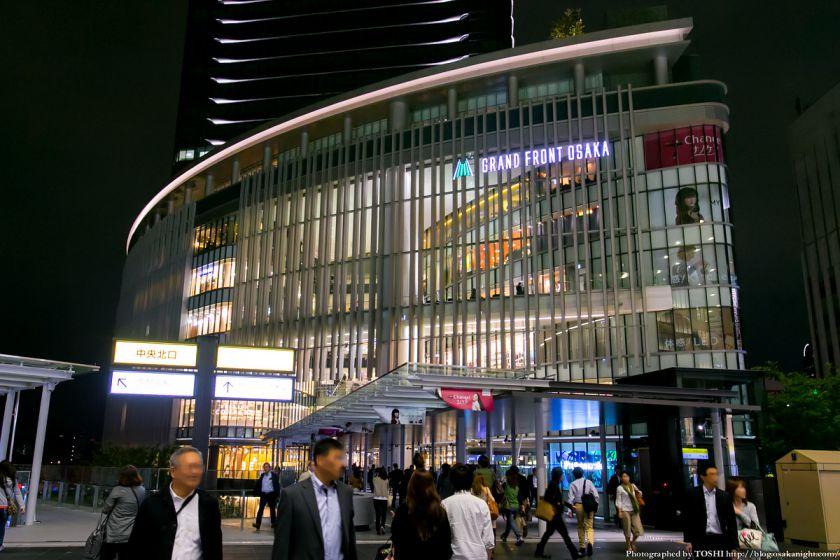 グランフロント大阪 南館 夜景