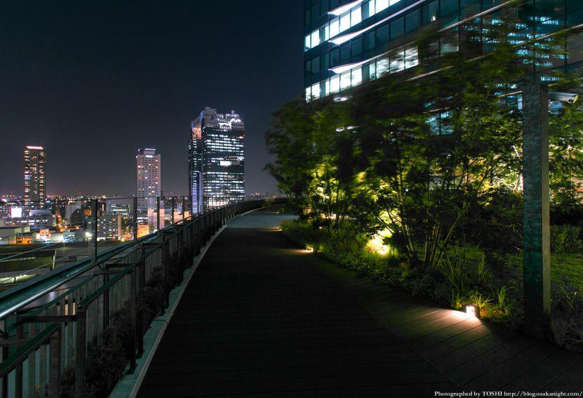 グランフロント大阪 南館 テラスガーデン 夜景 01