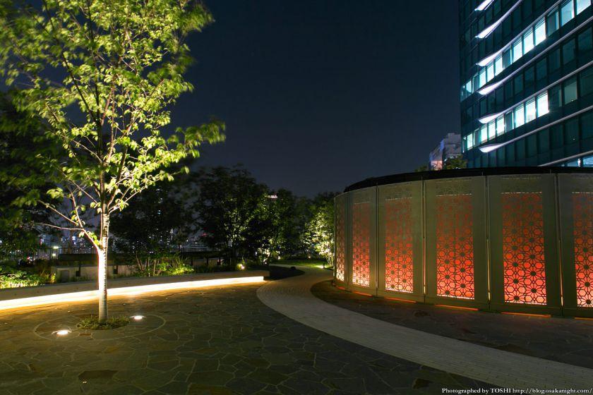 グランフロント大阪 南館 テラスガーデン 夜景 03