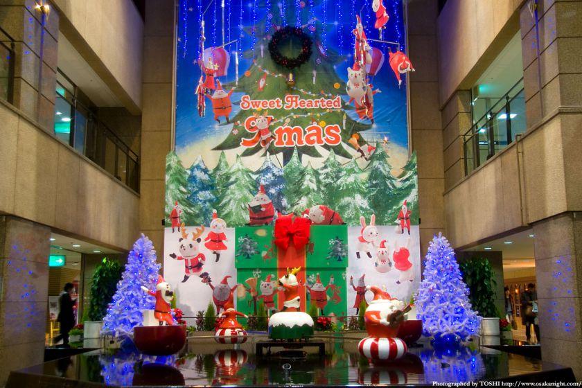 阪急三番街のクリスマス01