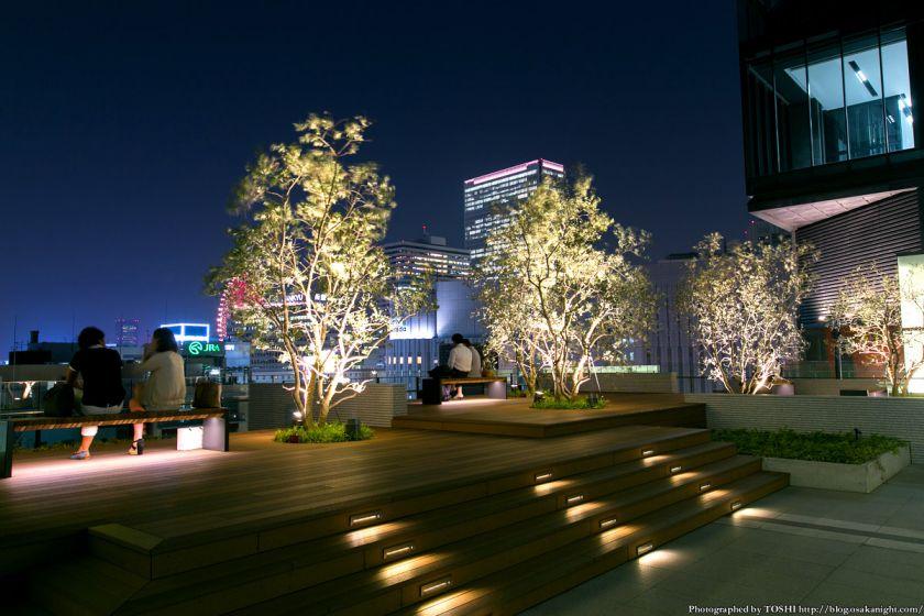グランフロント大阪 北館テラスガーデン 夜景 01