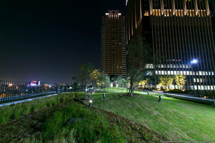 グランフロント大阪 北館テラスガーデン 夜景 03