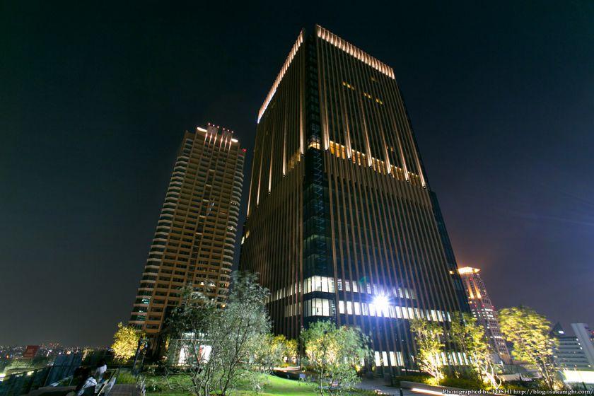 グランフロント大阪 北館テラスガーデン 夜景 05
