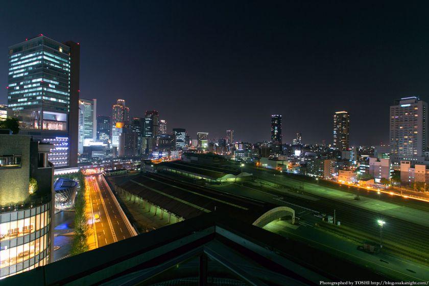 グランフロント大阪 北館テラスガーデン 夜景 06