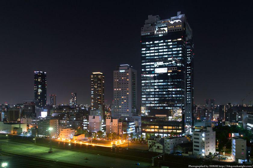 グランフロント大阪 北館テラスガーデン 夜景 07