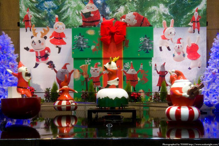 阪急三番街のクリスマス02