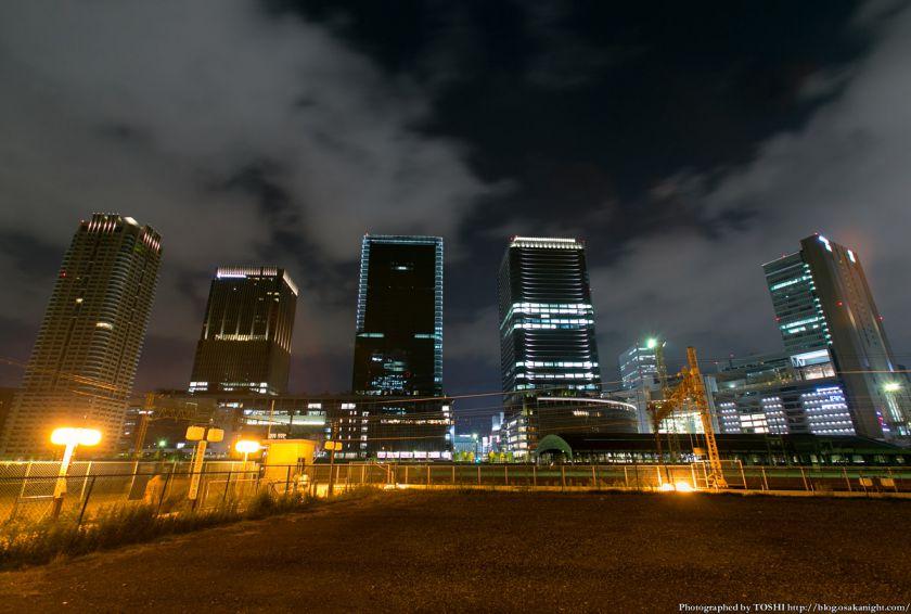 グランフロント大阪 全体夜景