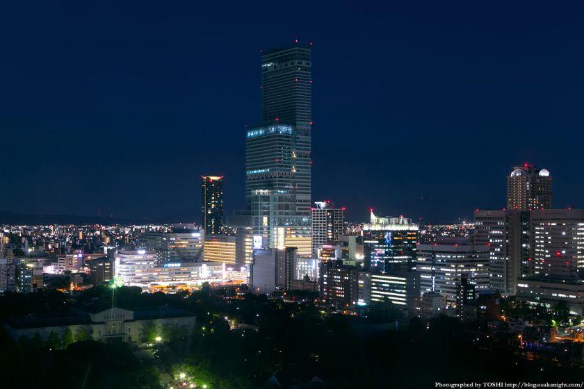 通天閣から見た天王寺・阿倍野エリア 夜景 01