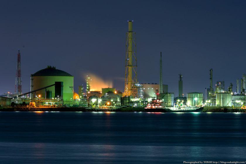 堺泉北臨海工業地帯 築港浜寺西町 大阪ガス泉北製造所第一工場