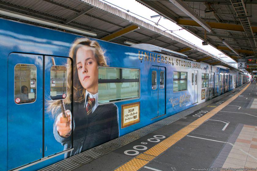 USJ ハリー・ポッター ラッピング電車