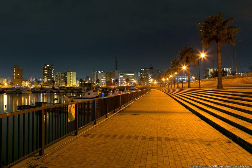 堺旧港の夜景 02
