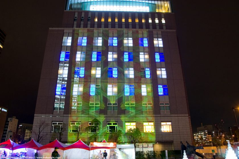 OSAKA光のルネサンス2009 大阪大学中之島センター