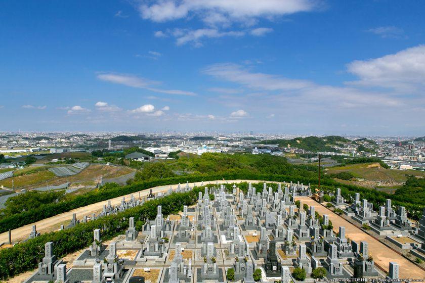 はびきの中央霊園からの眺め 2013年9月 01