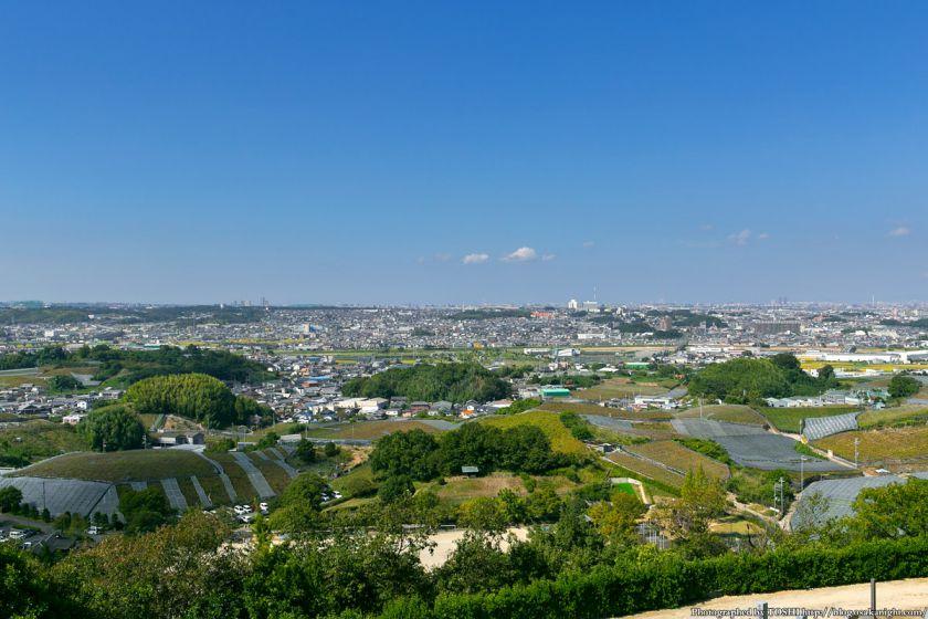 はびきの中央霊園からの眺め 2013年9月 02