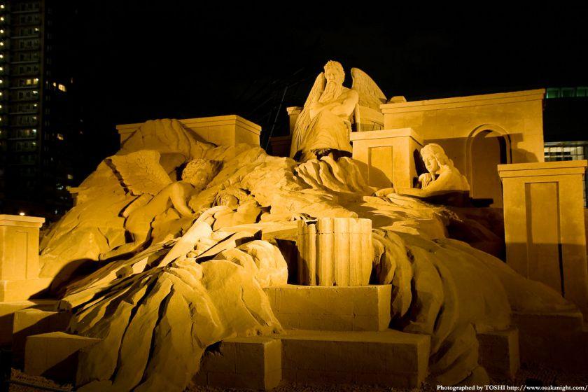 OSAKA光のルネサンス2009 砂の彫刻