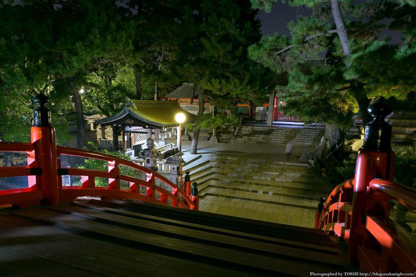 住吉大社 反橋(太鼓橋) 夜景 04