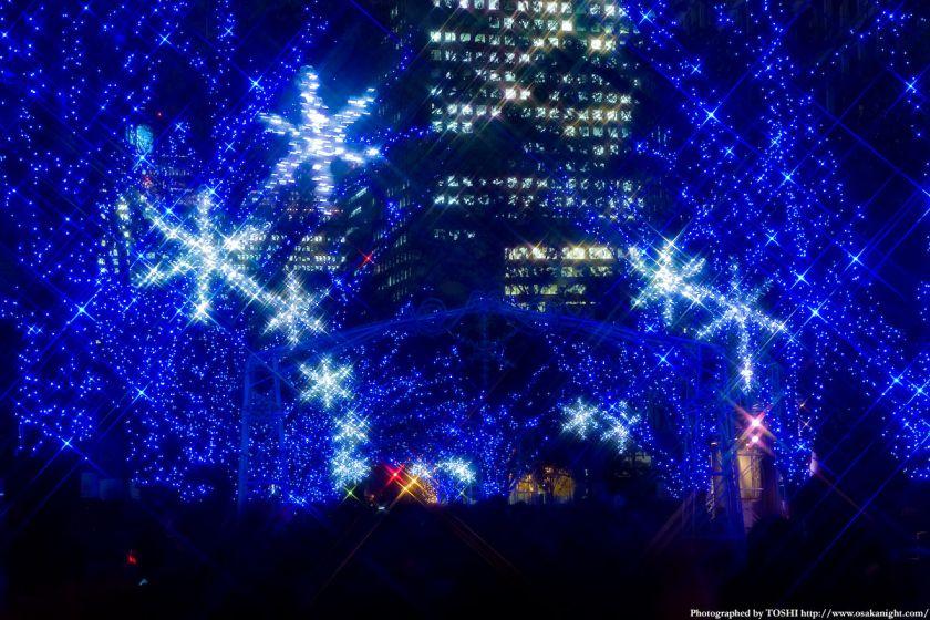 OSAKA光のルネサンス2009 中之島イルミネーションストリート02