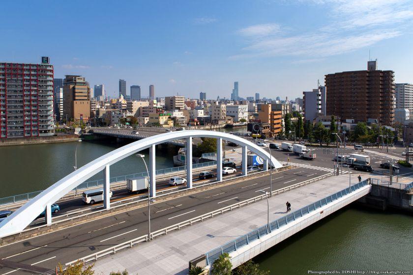 岩松橋と大正橋 2013年11月