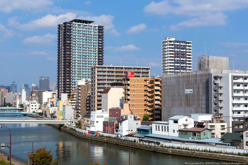 堀江地区のタワーマンション群 2013年11月
