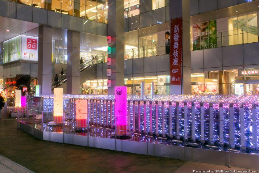 上本町YUFURA イルミネーション 2013 02