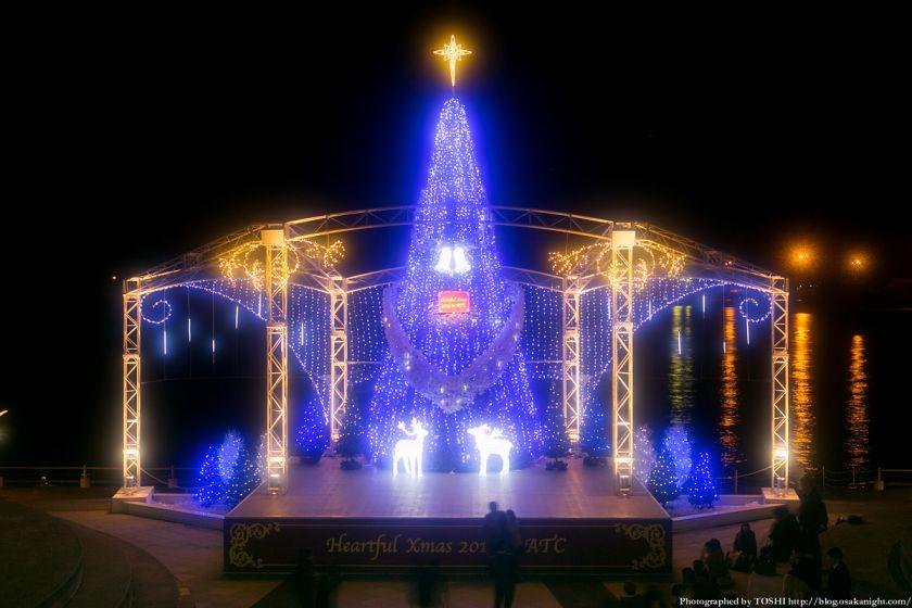 南港ATC クリスマス・イルミネーション 2013 01