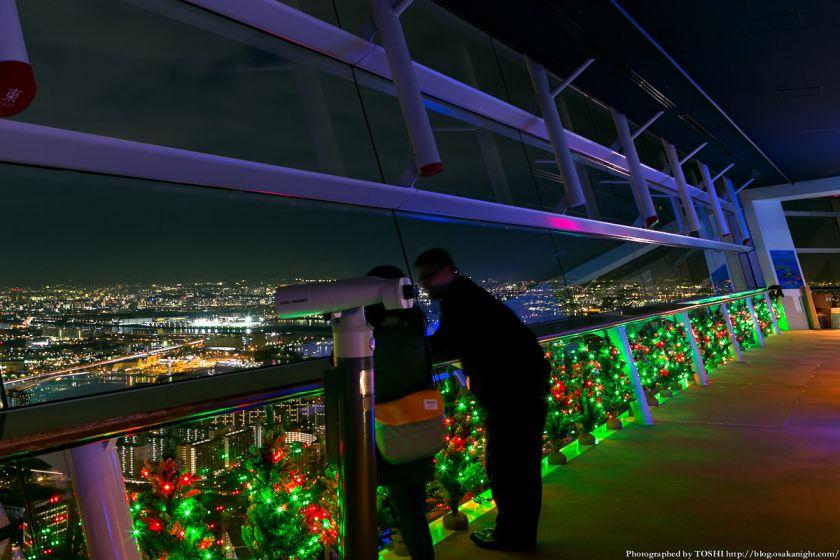 大阪府咲洲庁舎展望台のイルミネーション 2013 01