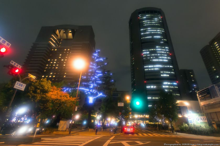 OAP クリスマス・イルミネーション 2013 01