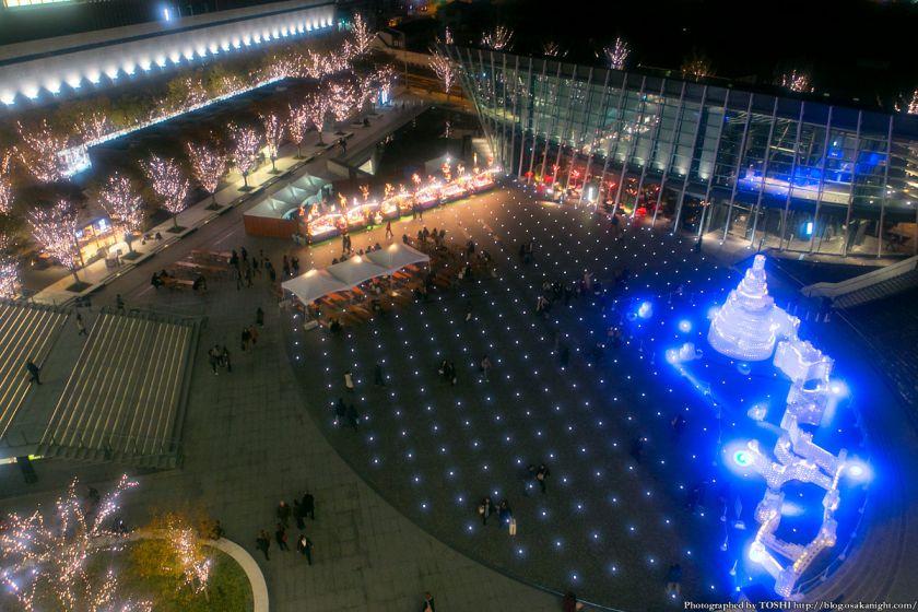 GRAND WISH CHRISTMAS 2013 うめきた広場全景