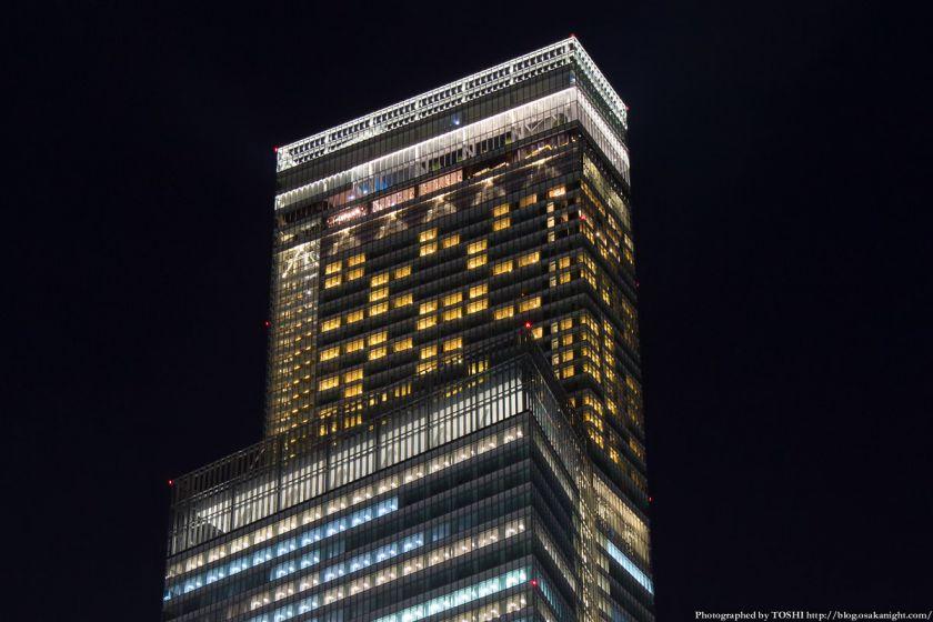 あべのハルカス ライトアップ夜景 2013年11月 03