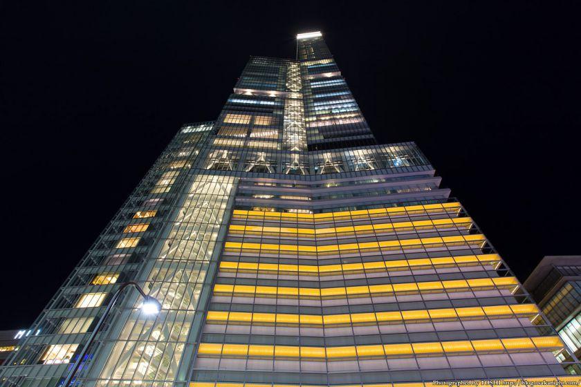 あべのハルカス ライトアップ夜景 2013年11月 05