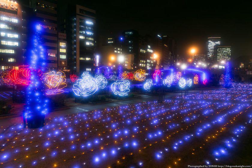 OSAKA光のルネサンス2013 ローズライトファンタジア 03