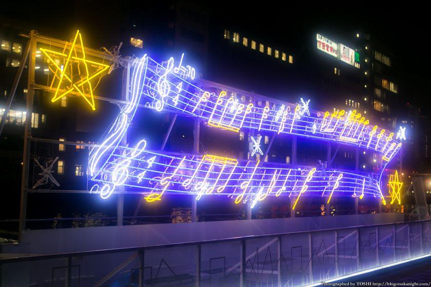 OSAKA光のルネサンス2013 ネオン管イルミネーション