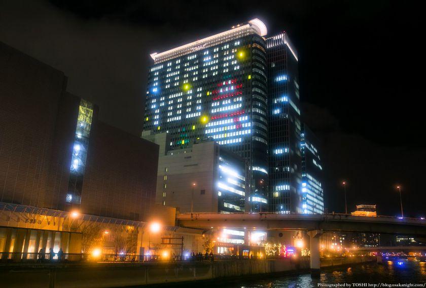 中之島三井ビル Osaka Buillumination 2013 01