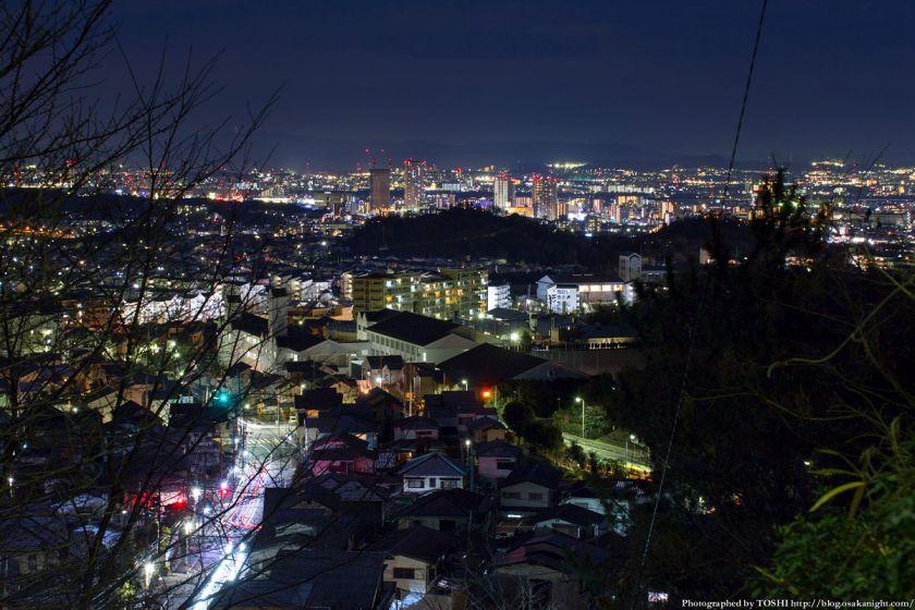 高槻大和ネオポリス 夜景 JR高槻駅方面 01
