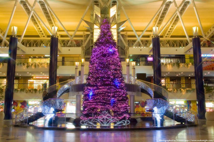 大阪WTCのクリスマス・イルミネーション2009 01
