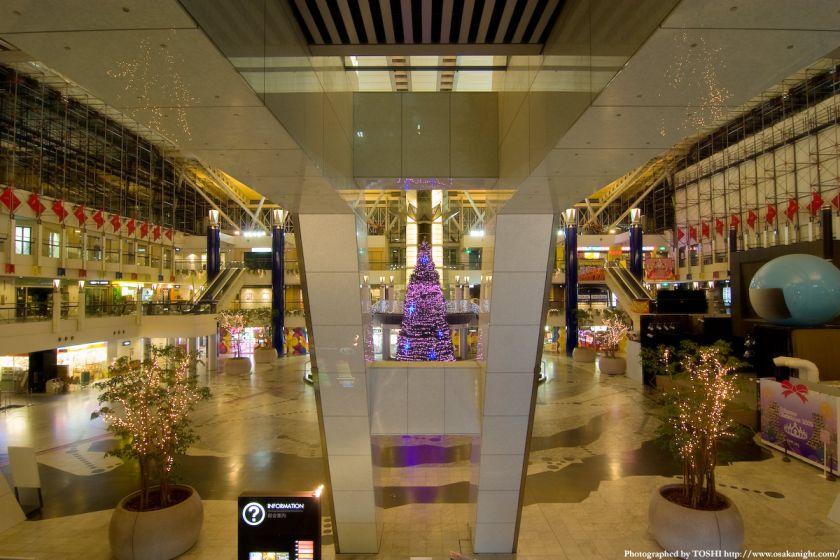 大阪WTCのクリスマス・イルミネーション2009 02