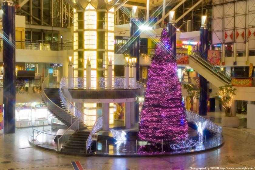 大阪WTCのクリスマス・イルミネーション2009 03