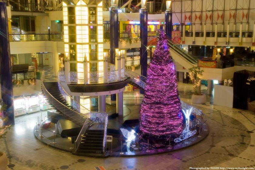 大阪WTCのクリスマス・イルミネーション2009 04