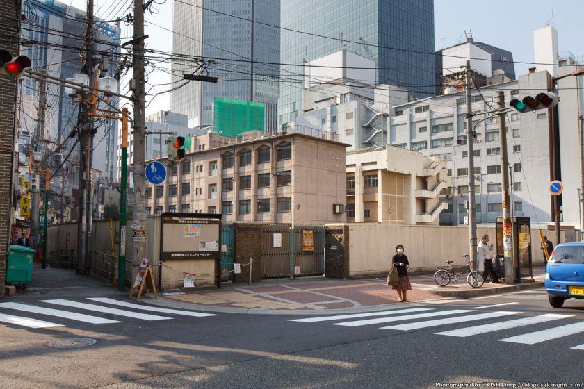 大阪北小学校・曾根崎幼稚園跡地 2014年3月 01