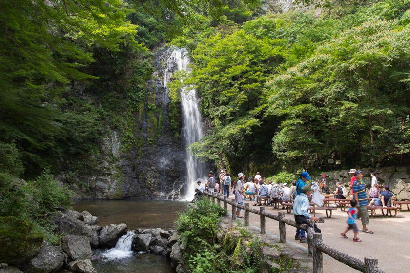 箕面大滝 2014年7月