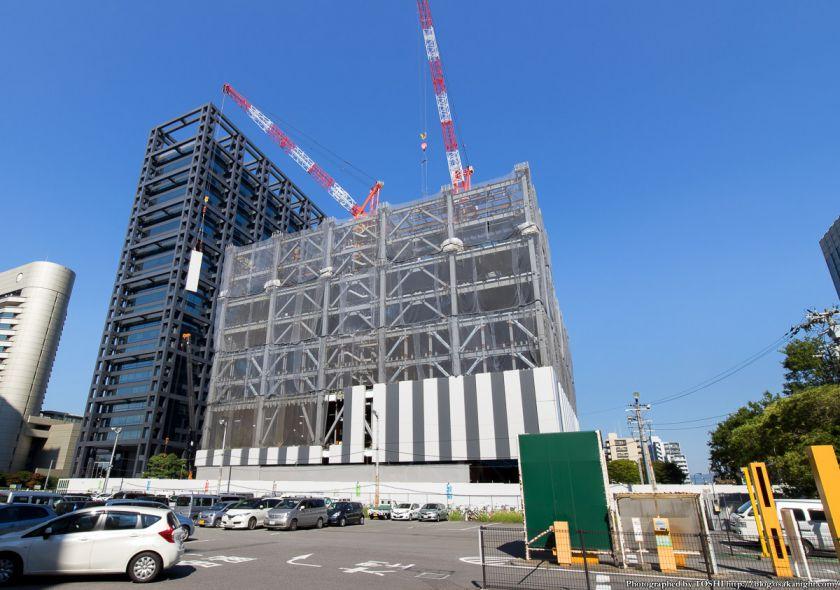 KDDI大阪第2ビル(TELEHOUSE OSAKA 2) 2014年9月