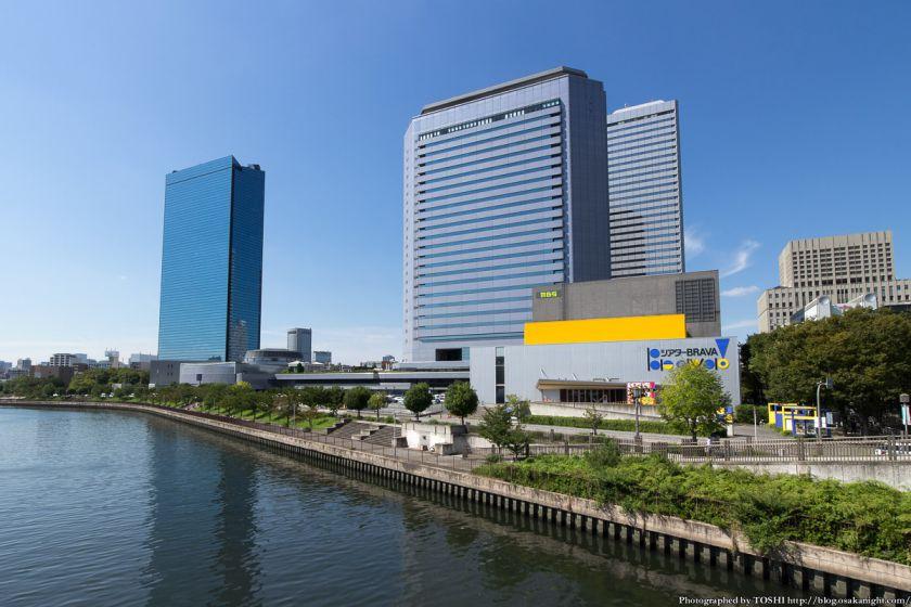 シアターBRAVA!(読売テレビ 新社屋 建設予定地) 2014年9月 01