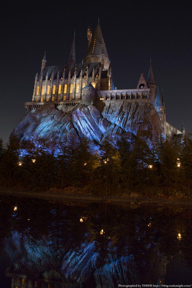 USJ ウィザーディング・ワールド・オブ・ハリー・ポッター ホグワーツ城 夜景 05