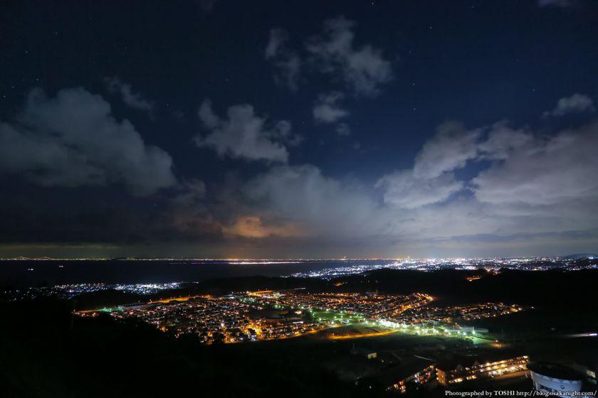 阪南スカイタウン 展望緑地 夜景 07 全景