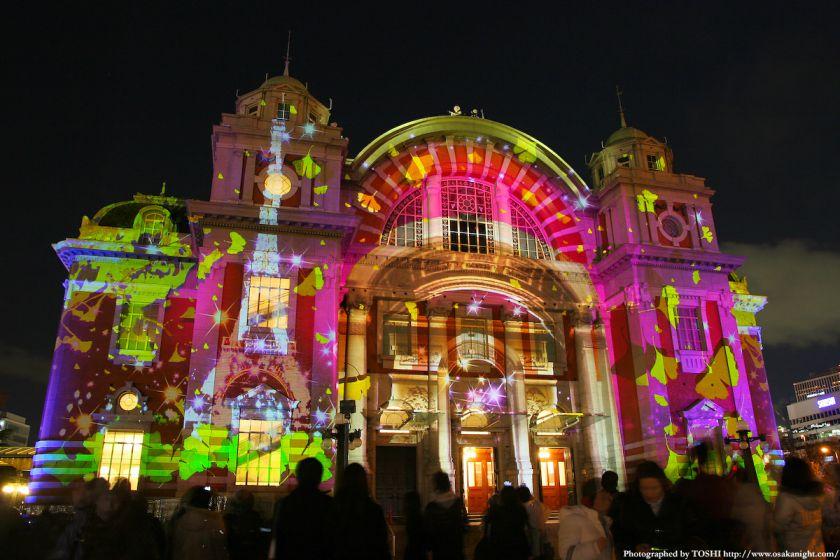 大阪市中央公会堂 『光絵画』(光のルネサンス2009)
