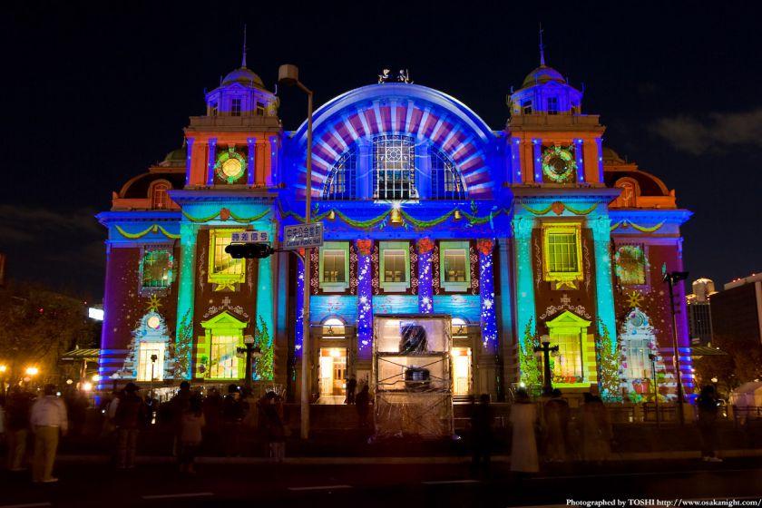 大阪市中央公会堂 『光絵画』(光のルネサンス2009)02