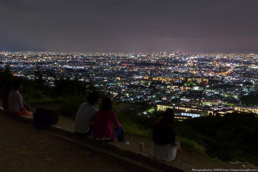 五月山 五月平展望台 夜景