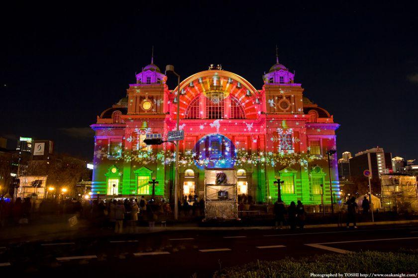 大阪市中央公会堂 『光絵画』(光のルネサンス2009)03